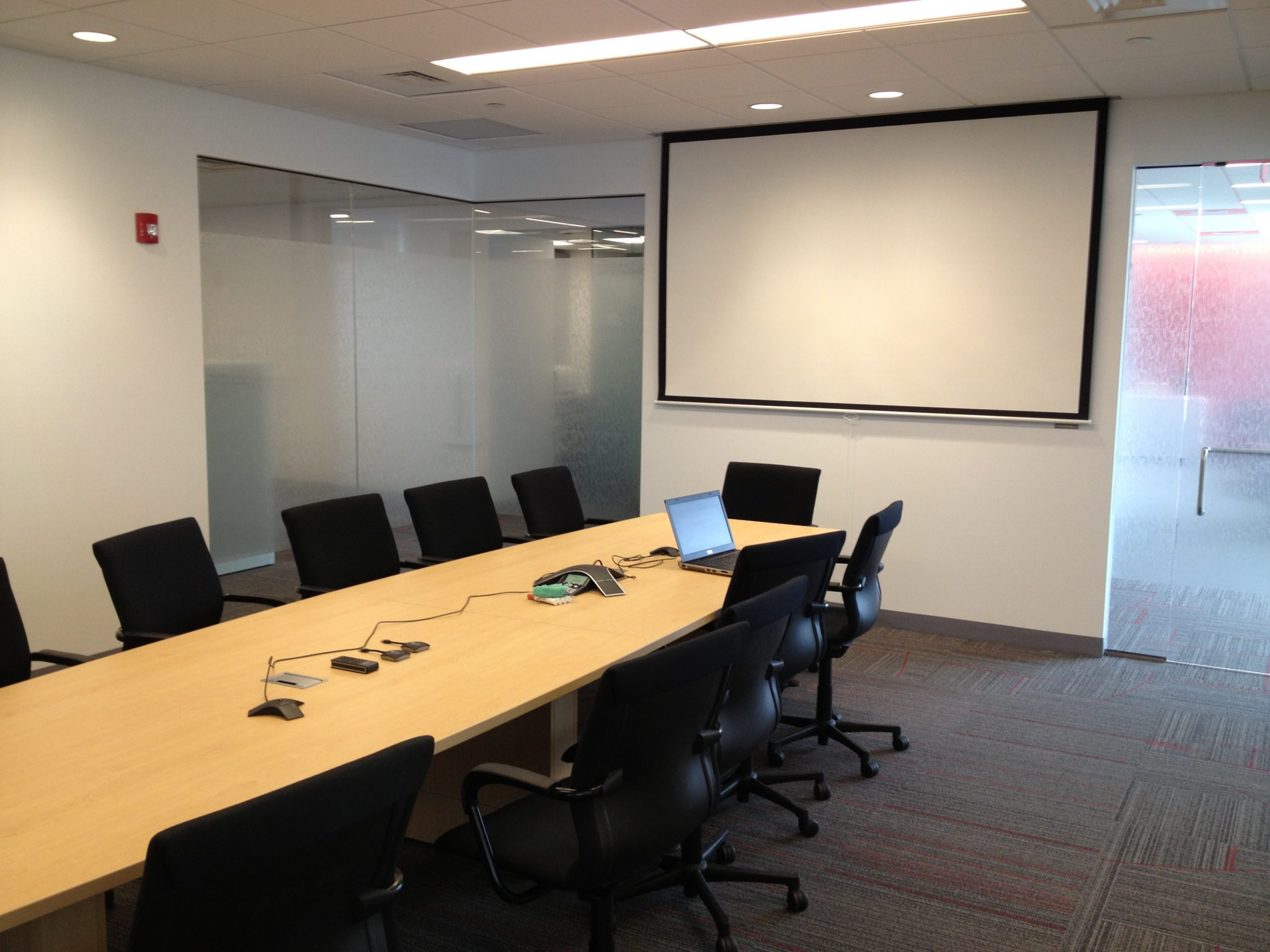 Conference Room Audio and Visual Equipment