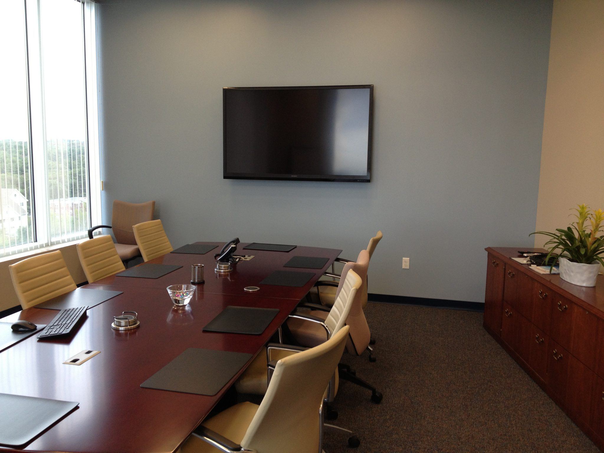 Board room AV equipment