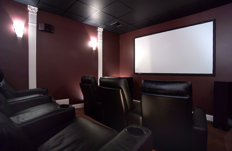 High End theater systems with surround sound