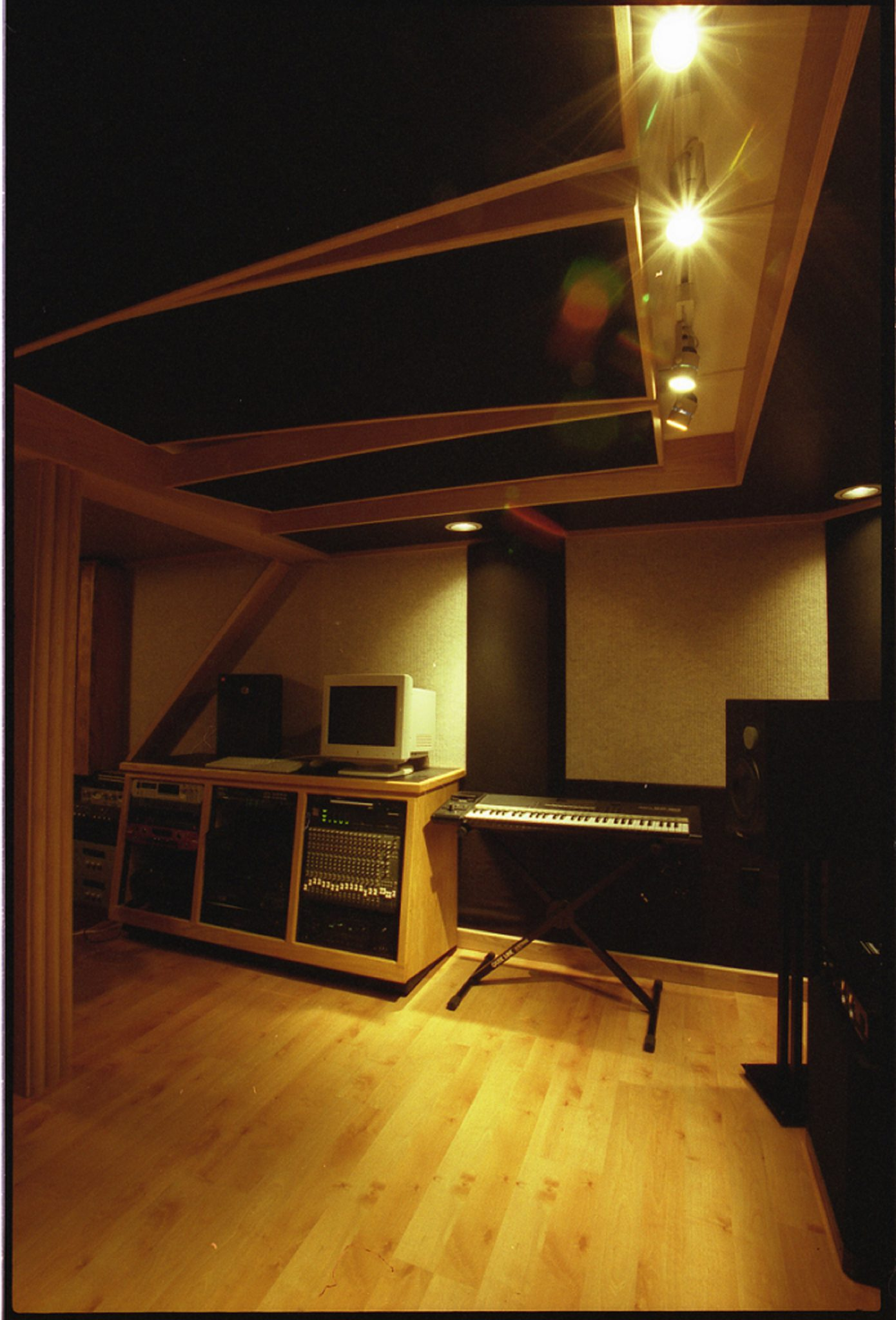 recording studio AV equipment