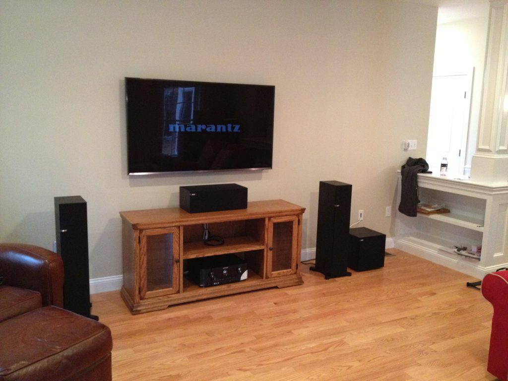 Audio video systems with surround sound