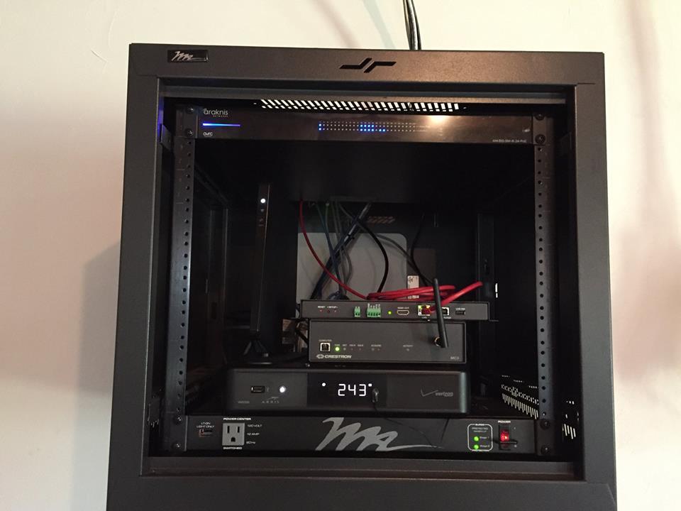 Home AV cabinet