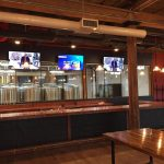AV systems for bar area