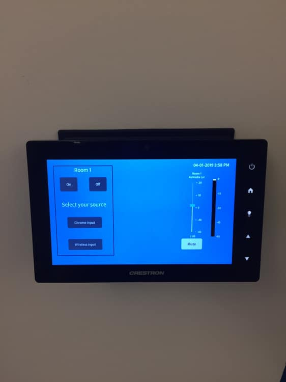 smart control panel in Boston