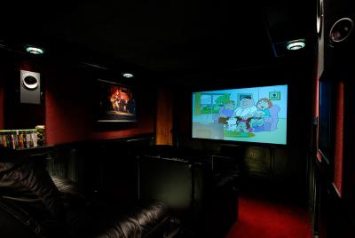 Home Theater design in Natick, Ma